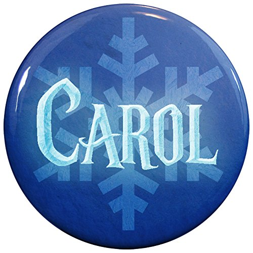 Buttonsmith® Carol Winter Ice Name Tag