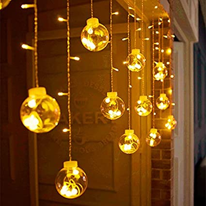 generic colorful 6w 3m 120 led christmas lights indoor curtain fairy string light wedding