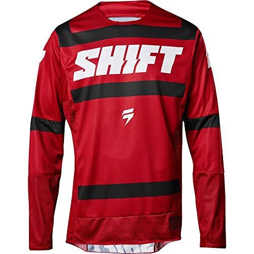 2018 Shift Black Label Strike Jersey-Dark Red-L ()