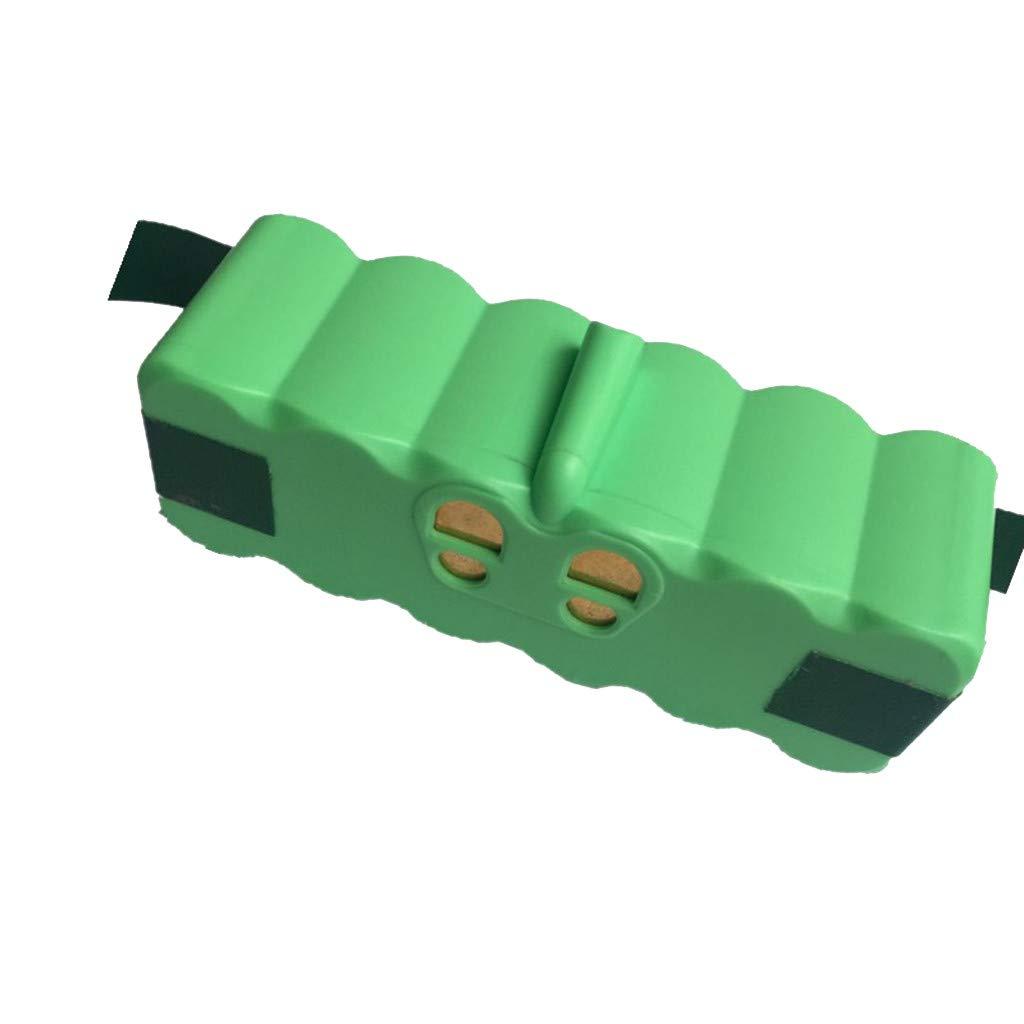 ROLYPOBI Vacuum Cleaner Accessories 14.8V 6400mah Battery for Irobot 500 600 700 800 980 Series