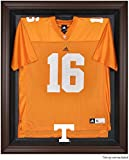 Tennessee Volunteers Brown Framed Logo Jersey Display Case