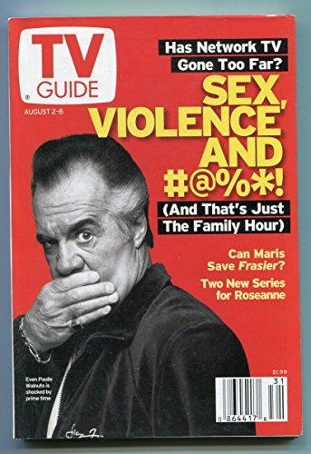 TV Guide-Paulie Walnuts-New York Metropolitan Edition-August 2003-VG