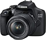 Canon-EOS-1500D-241MP-Digital-SLR-Camera-Black-with-18-55-and-55-250mm-is-II-Lens-16GB-Card-and-Carry-Case