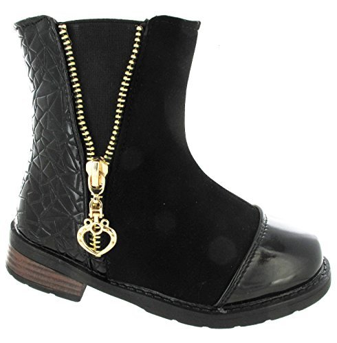 Zipper Baixos Tamanho Sapatos Plana Saltos Boots Ankle Patchwork Estilo Nanny 17HBqETwxn