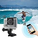 LizaTech 1080p Waterproof Action Camera With Wifi