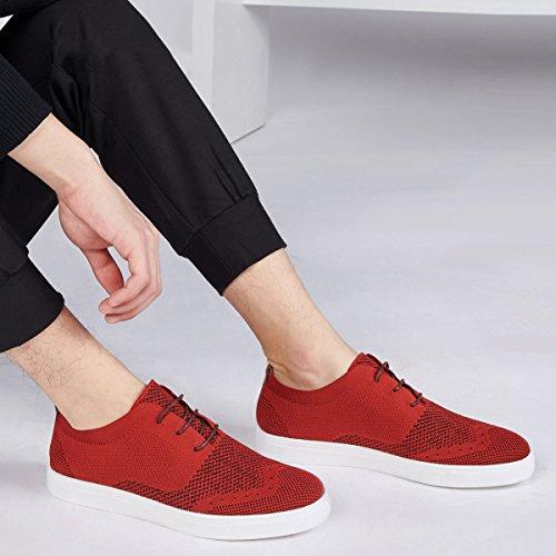 red Pour Chaussures Résistance De Hommes De Chaussures Chaussures Aux Chaussures Mode Une Chaussures Faible De Sport Sport GRRONG Chaussures UqBAfSw