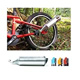 Kbsin212 The Bicycle Sound Exhaust system Bicycle Turbo Motorcycle Easy to install Six Kinds Of Motorcycle Wild Sound Turn Your Bike Into A MotorBike