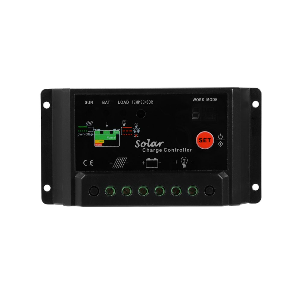Xcsource 30a 12v 24v Solar Charge Controller Circuit The Appears To Be Little Panel Battery Intelligent Regulator Without Lcd Display Ld296 Garden Outdoor