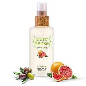 Pure Sense grapefruit body mist