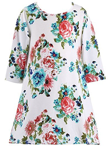 Old Dresses Year 11 (Happy Rose Girls Dress with Flowers T shirt)