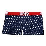 PSD Underwear Women's USA Short, Navy, Small