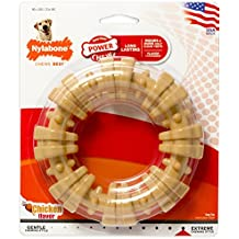 Nylabone DuraChew Ring Chew Toy for Large Dogs, Flavor Medley, Color and Package may vary