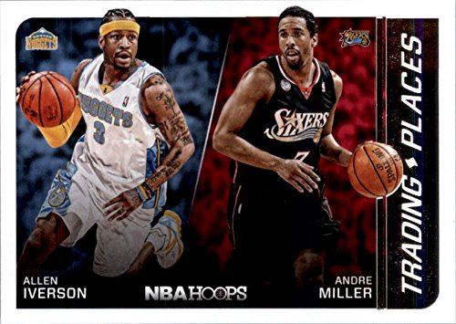 2014-15 Hoops Trading Places #3 Allen Iverson Andre Miller Basketball Card