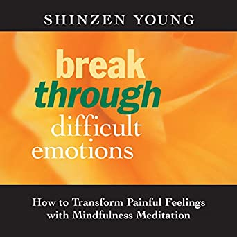 Break Through Difficult Emotions: How to Transform Painful Feelings with  Mindfulness Meditation - Shinzen Young