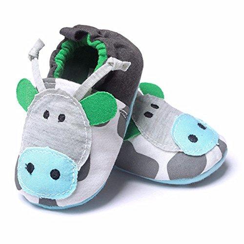 Zapatos verdes con elástico infantiles 2Gcp2AUT
