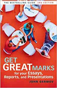 get great marks for your essays by john germov Get great marks for your essays [2000] qualitative research in health: an introduction  get great marks for your essays / john germov germov, john.