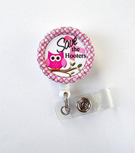 save-the-hooters-badge-holder-breast-cancer-badge-reel-nursing-badge-teacher-badge-reel-medical-badg