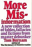 More Misinformation, Tom Burnam, 0690016859