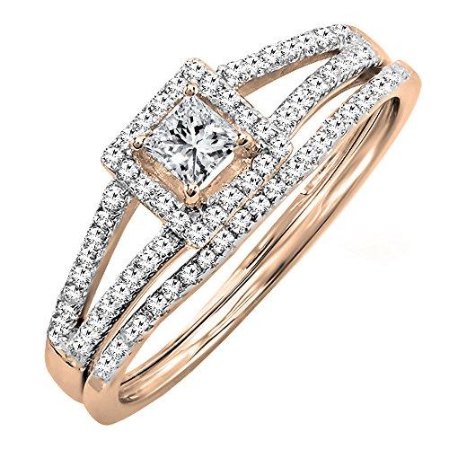 0.45 Ct Princess Diamond - 4