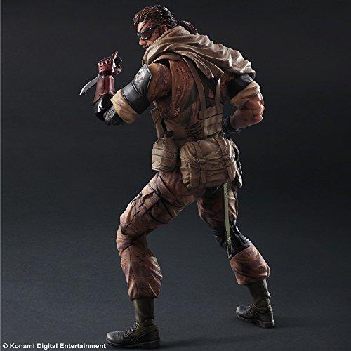 The Phantom Pain US Seller Play Arts Kai Man on Fire Metal Gear Solid V 5