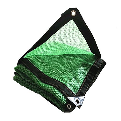 Shading net high density polyethylene green 6-pin network encryption thickening courtyard balcony roof outdoor greenhouse sun protection (Size : 25m) by Shading net