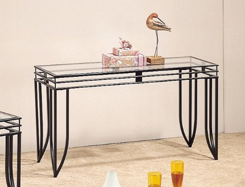 Black Sofa Table