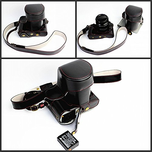 Fuji XT1 Case, BolinUS Handmade PU Leather FullBody Camera C