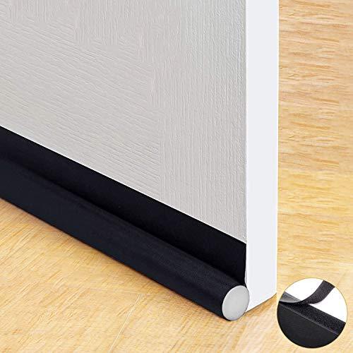 Trenect Door Draft Stopper Noise Reduction Sound Proof Door Draft Blocker Energy Saving Dust Proof 37 inches Adjustable Under Door Seal (Energy Sound)