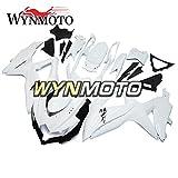 WYNMOTO Motorcycle Body Kit For Suzuki GSX-R600-750 2008 2009 2010 K9 08 09 10 Sportbike Pure Matte White ABS Plastic Injection Fairings