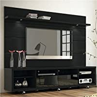 Bowery Hill 2.2 Series 85 TV Stand and Panel in Black