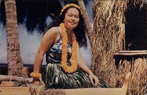 Hawaiian Hula Girl Waikiki Original Vintage - Kids Waikiki With