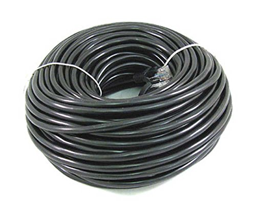 ANiceS 200FT 60M CAT5 cat 5 RJ45 Ethernet Network Cable Black