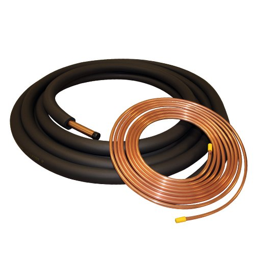 - 3/8x7/8x25' Insulated Copper Lineset Air Conditioner or Heat Pump