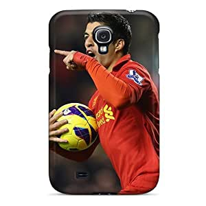 High-quality Durable Protection Case For Galaxy S4(the Best Forward Of Liverpool Luis Suarez)