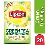 Lipton Green Tea, Decaffeinated Honey Lemon, 20 ct  (Pack of 6)