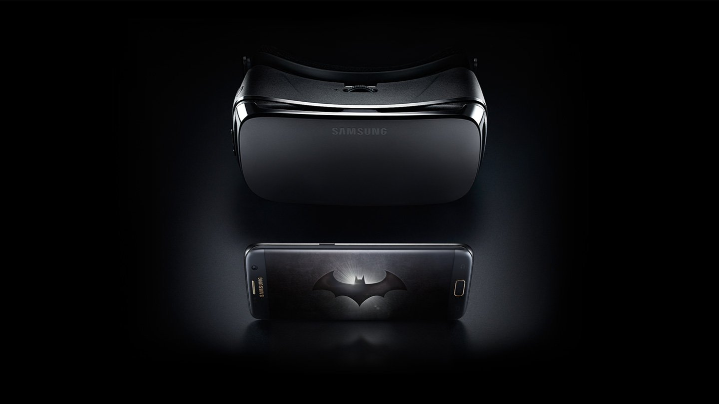 Samsung Galaxy S7 Edge(Batman Injustice) with VR Gear
