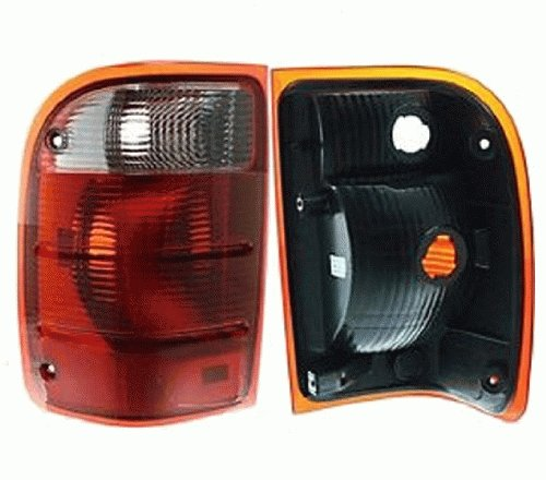 Discount Starter and Alternator FO2800156 Replacement Taillight Fits Ford Ranger Driver Side Plastic Lens Without Bulbs
