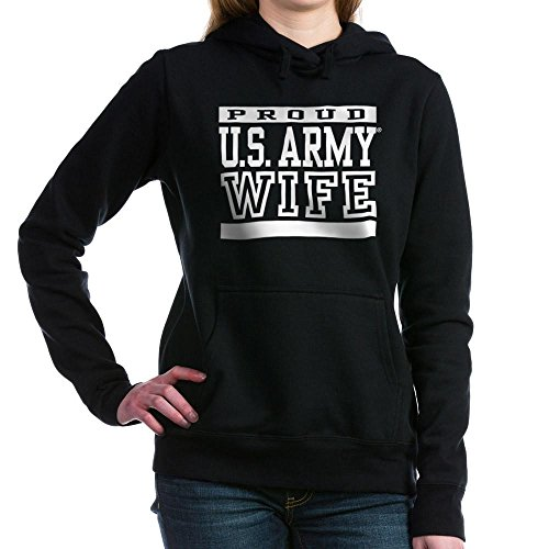 CafePress Proud U.S. Army Wife - Pullover Hoodie, Classic & Comfortable Hooded Sweatshirt