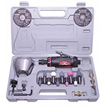 Canadian Tool and Supply 3-Inch Air Cut Off Tool & 1/4-Inch Die Grinder Kit and Accessories (ACODGTK-3)