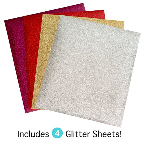 Heat Transfer Vinyl Glitter Combo 20 Sheets 16 4