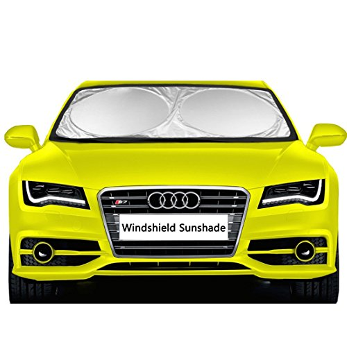 car windshield sunshade eveshine sun shade uv auto protector import it all. Black Bedroom Furniture Sets. Home Design Ideas