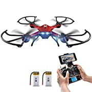 Amazon #DealOfTheDay: RC Quadcopter,Potensic F181WH Drone RTF Altitude Hold RC Quadcopter UFO with 2MP WiFi Camera