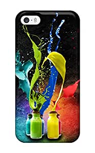 New Style Tpu 5/5s Protective Case Cover/ Iphone Case - Abstract Video Of 3d Printing