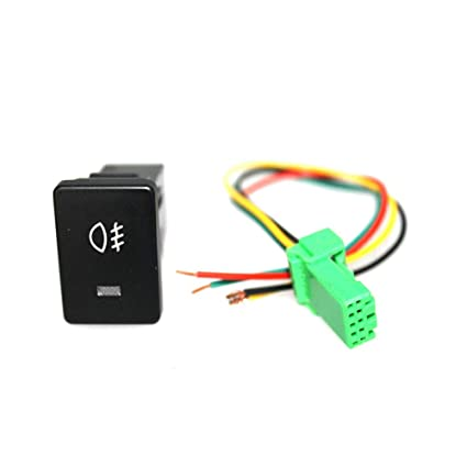 Amazon.com: XuBa 120MM/0.5in Cable DC12V 4 Wire Foglight Switch Fog on