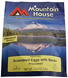 Mountain House Scrambled Eggs with Bacon - 2.25oz