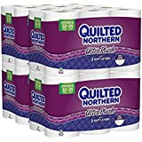 Quilted Northern Ultra Plush Toilet Paper, Pack of 48 Double Rolls (Four 12-roll packages), Equivalent to 96 Regular Rolls--Packaging May Vary (2 pack(48 Double Rolls))