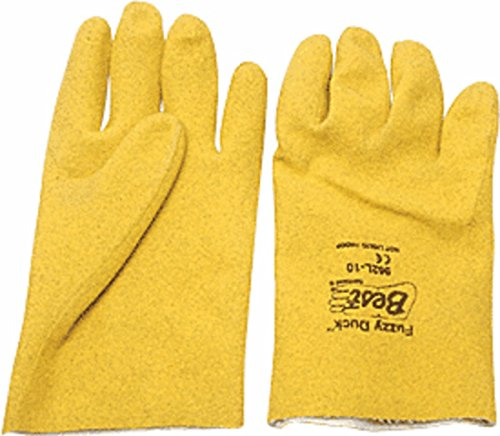 Fuzzy Duck PVC Gloves - ()