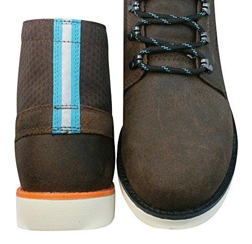 Vans Breton Boot Bottes En Cuir Pour Hommes - Chaussures Marron
