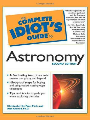 The Complete Idiot's Guide to Astronomy (2nd Edition)