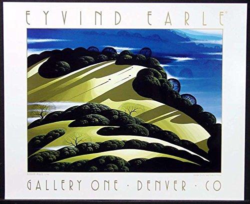 Eyvind Earle Hidden Hills Quality Fine Art Gallery Poster